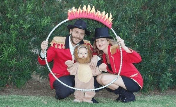 disfraces-familia-circo