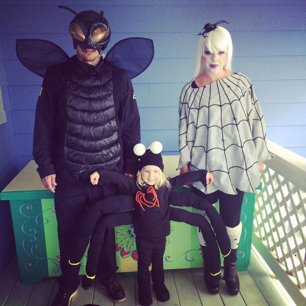disfraz-familia-araña