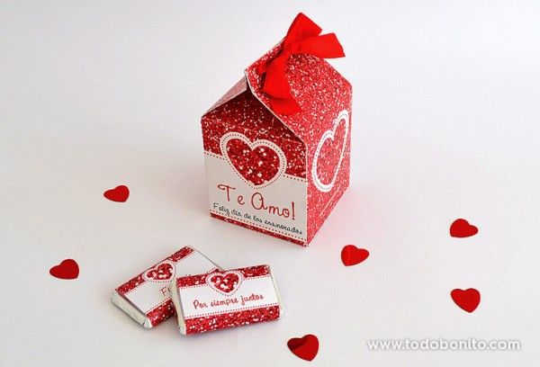 decoracion kit imprimible dia enamorados amor corazon rojo (5)