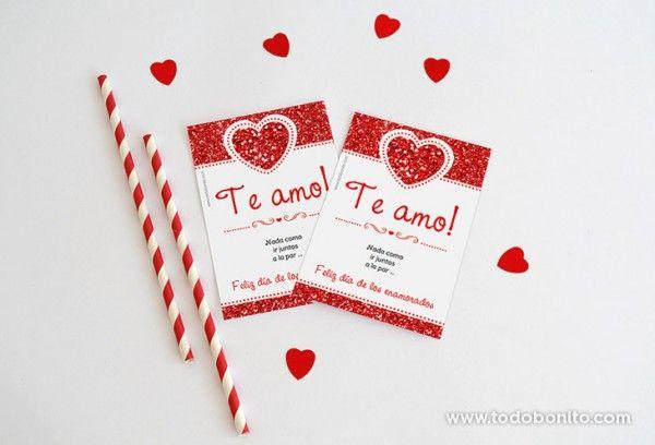decoracion kit imprimible dia enamorados amor corazon rojo (6)