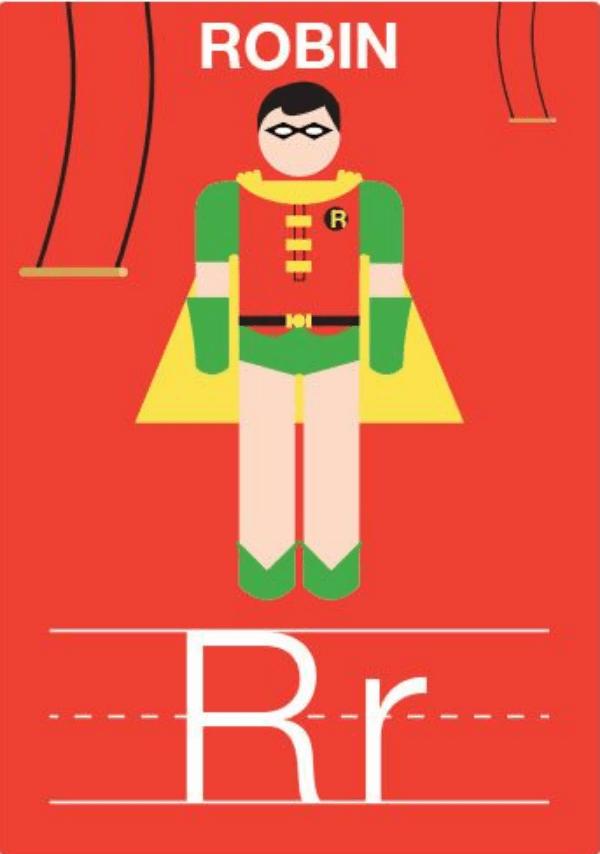 imprimible-superheroe-robin
