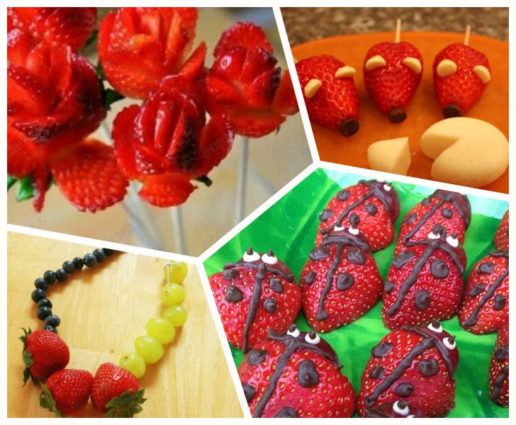 Recetas-con-fresas-niños