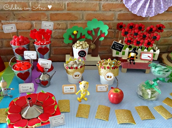 Decoración mesa Fiesta Mago de Oz