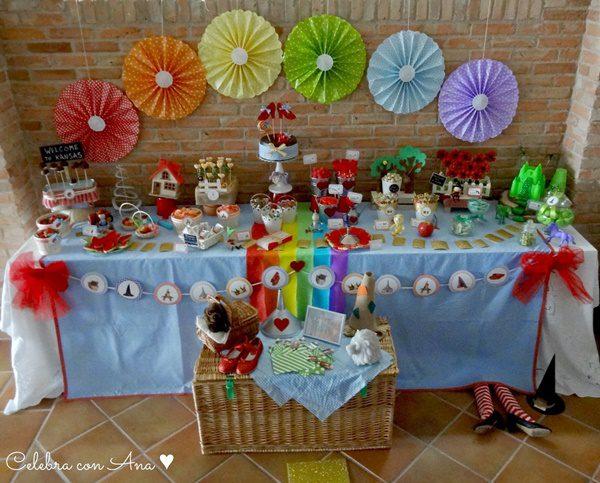 "Preciosa fiesta infantil ""El Mago de Oz"""