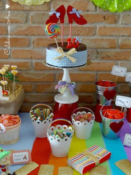 Ideas tarta Fiesta Mago de Oz