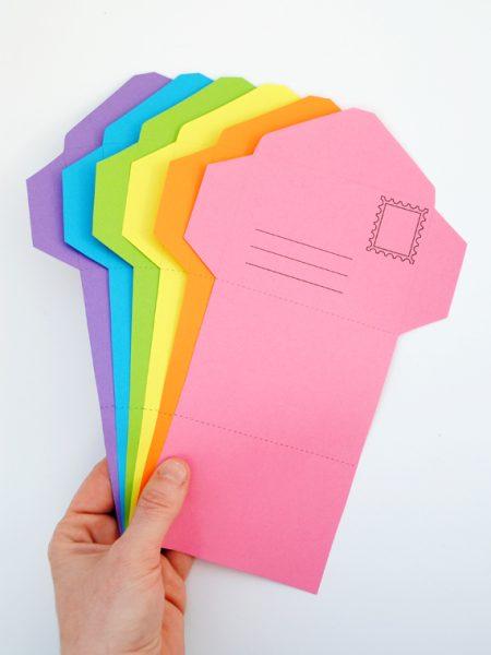manualidad papel niños invitaciones cumpleaños