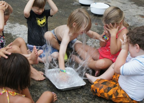 agua verano actividades