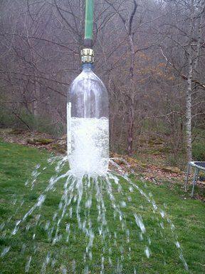 botella ducha agua verano actividades