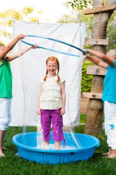 burbujas verano actividades
