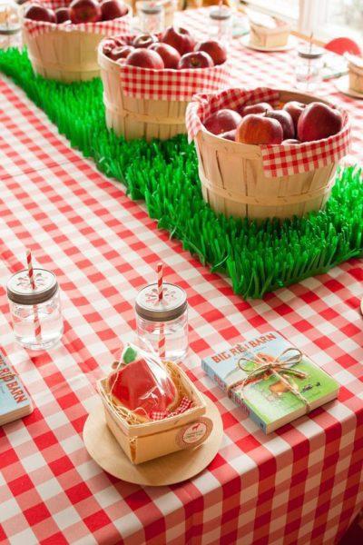 Ideas para una fiesta tem tica de la granja fiestas y cumples - Ideas para hacer manteles ...