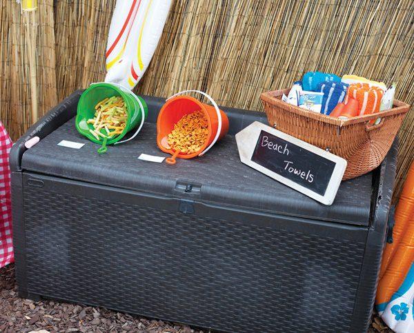 comida fiesta de la playa para niños
