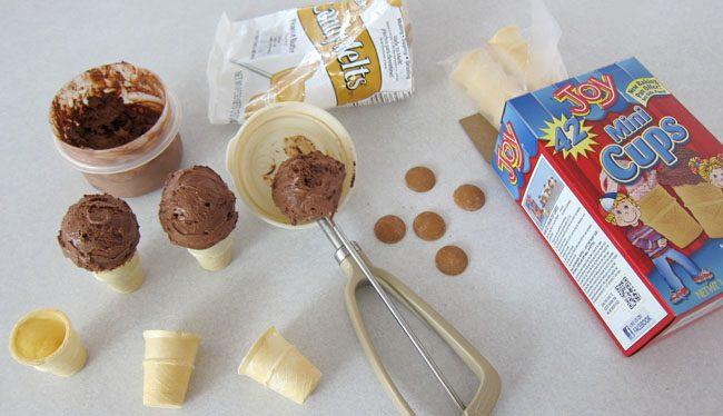 helado de mono para el verano