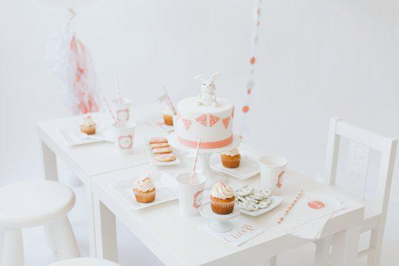 fiesta para niños pequeños mesa dulce decoración