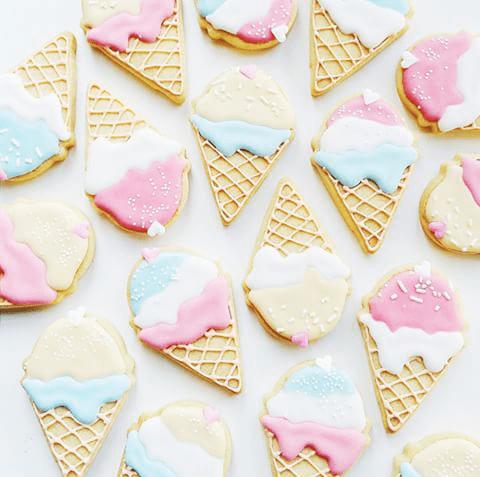 helado galletas merienda fiesta