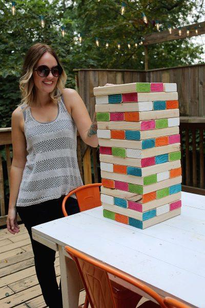 jenga madera juegos actividade sverano