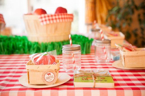 Ideas para una fiesta temática de la granja