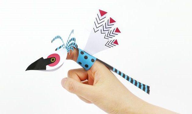 pajaros dedos de papel - copia (2)