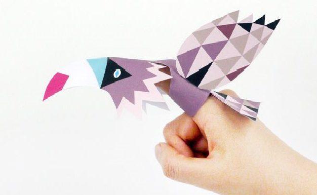 pajaros dedos de papel - copia