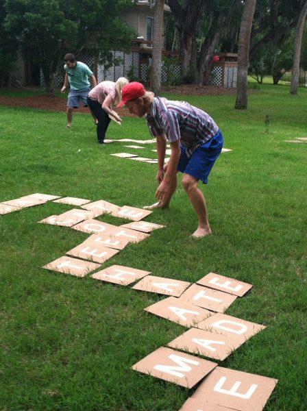 palabras encadenadas jardin verano actividades