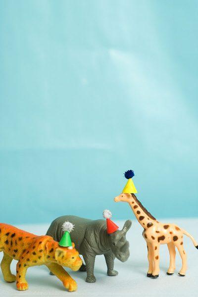sombreros fiesta infantil de animales