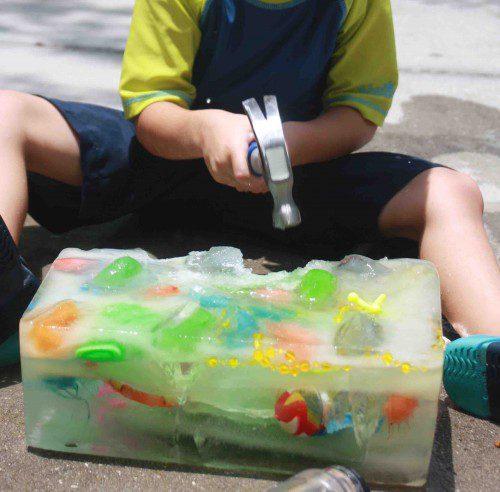tesoro hielo verano actividades