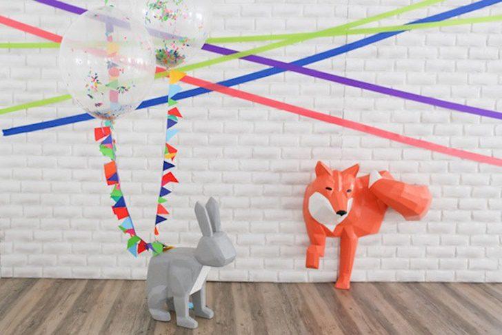Fiesta para niños de animales