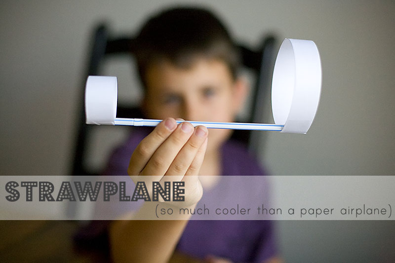 actividades con pajitas de plástico para niños