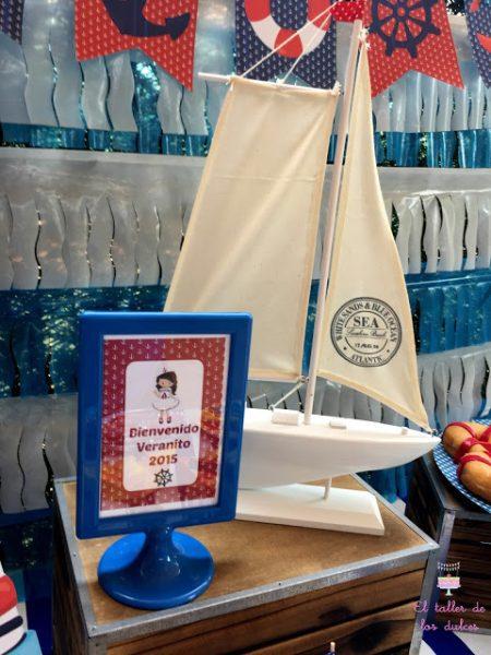 cumpleaños infantil fiesta tematica de marineros