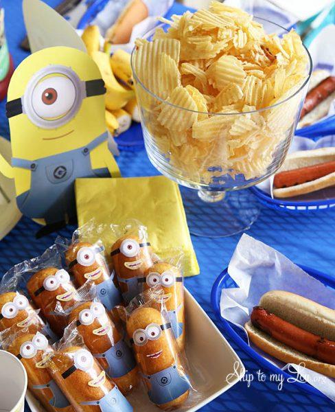 Descargables e Ideas para un Cumpleaños con los Minions