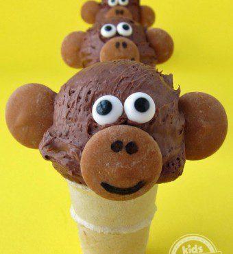 helado mono