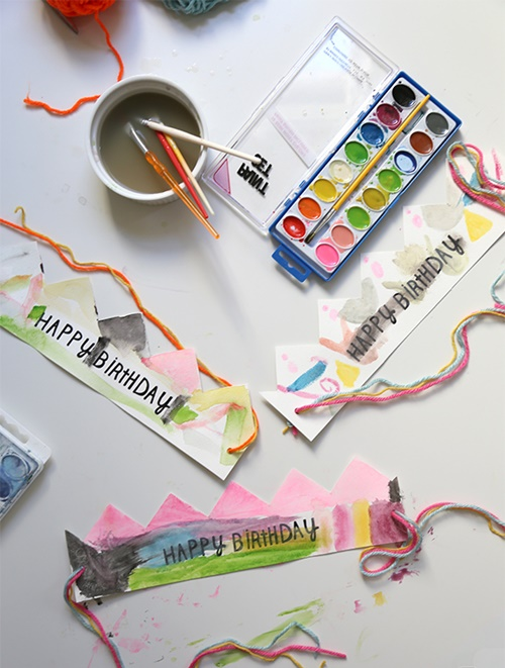 ideas para corona cumpleaños infantil