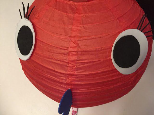 lampara pez globo fiesta infantil