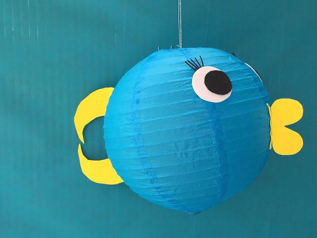 Pez globo para decorar fiestas infantiles
