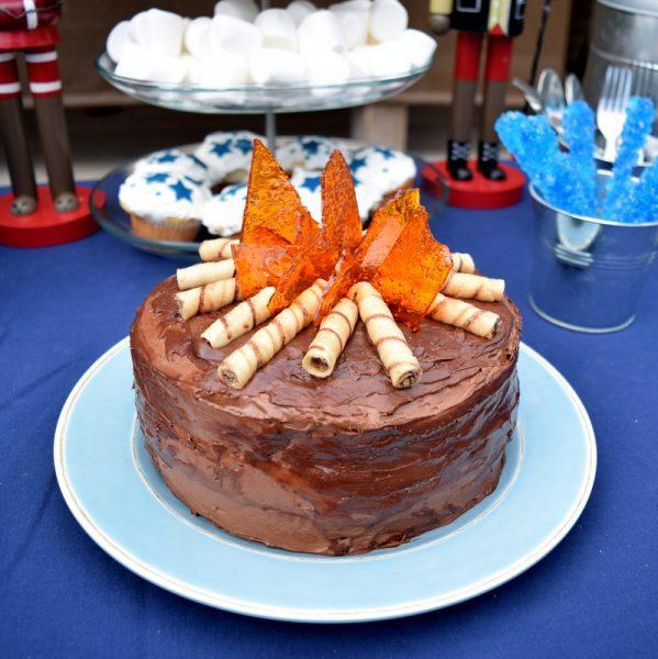 tarta camping fiesta