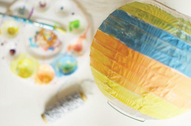 materiales para hacer manualidad de globo