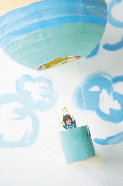 Viaje en globo para niños – Manualidad para Decorar