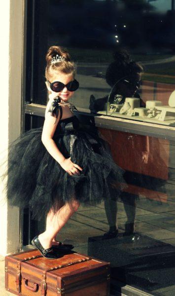 disfraz de audrey hepburn para niña