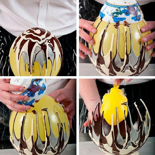 hacer bol de chocolate facil en casa
