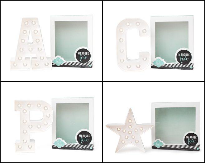letras luminosas para decorar habitacion