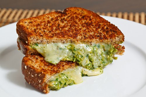 10 sandwiches para niños poco tipico esparragos con pesto