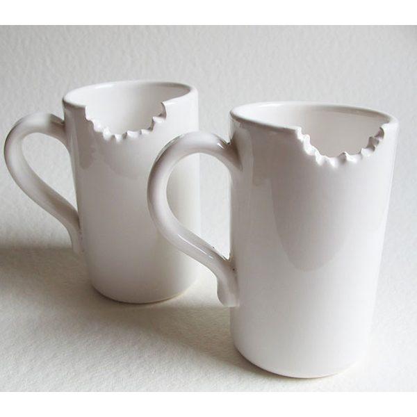 15 tazas geniales de diseño mordisco mañanero