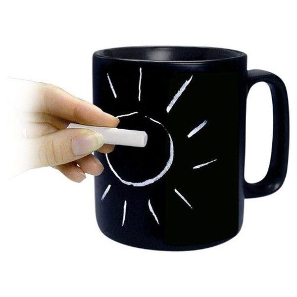 15 tazas geniales de diseño pizarra