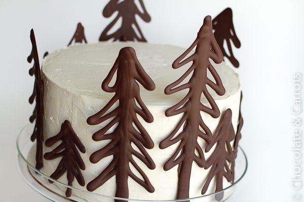 7 TARTAS PARA CUMPLEAÑOS INFANTILES - bosque de chocolate