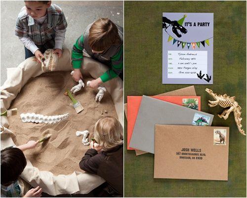 8 ideas para hacer una fiesta de dinosaurio actividades palentologia