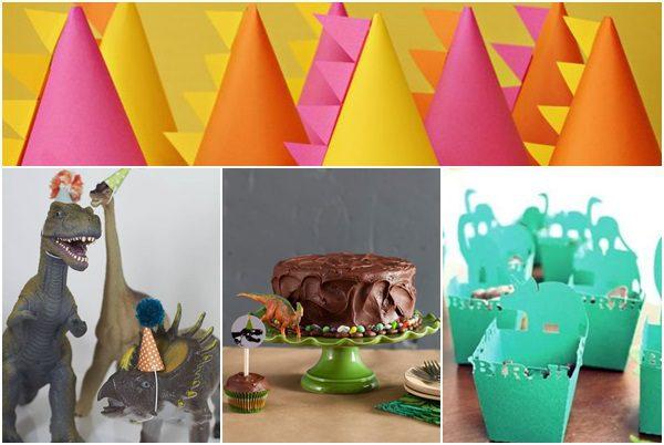 8 ideas para hacer una fiesta de dinosaurio