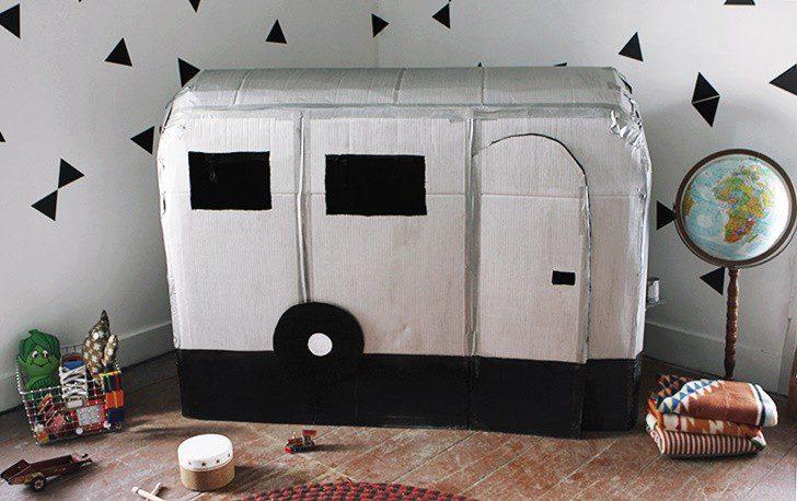 caravana diy carton