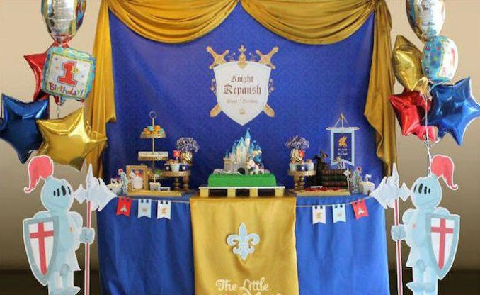 Ideas para un cumpleaños medieval