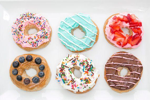 decora tu propio donut como mas te guste sabores