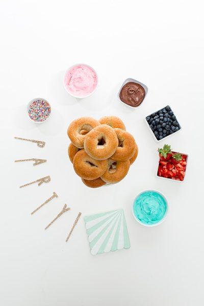 decorar un donuts en casa