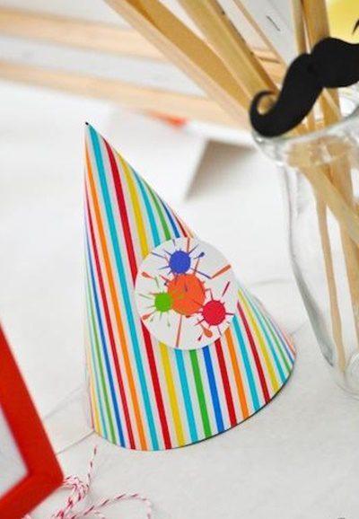 fiesta arte para niños